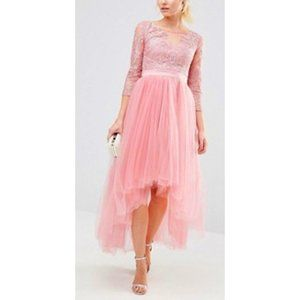 Gown prom lace dress